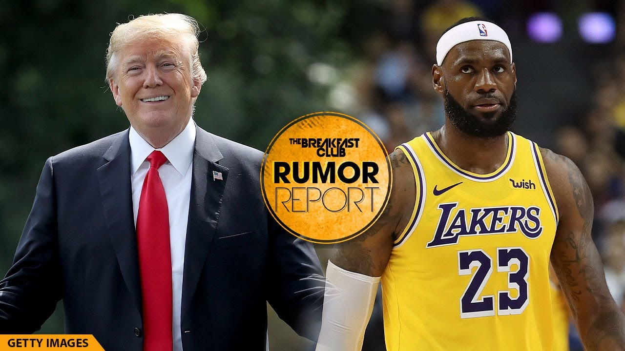 Donald Trump Suggests LeBron James Could Get A Sex Change To Compete Against Women