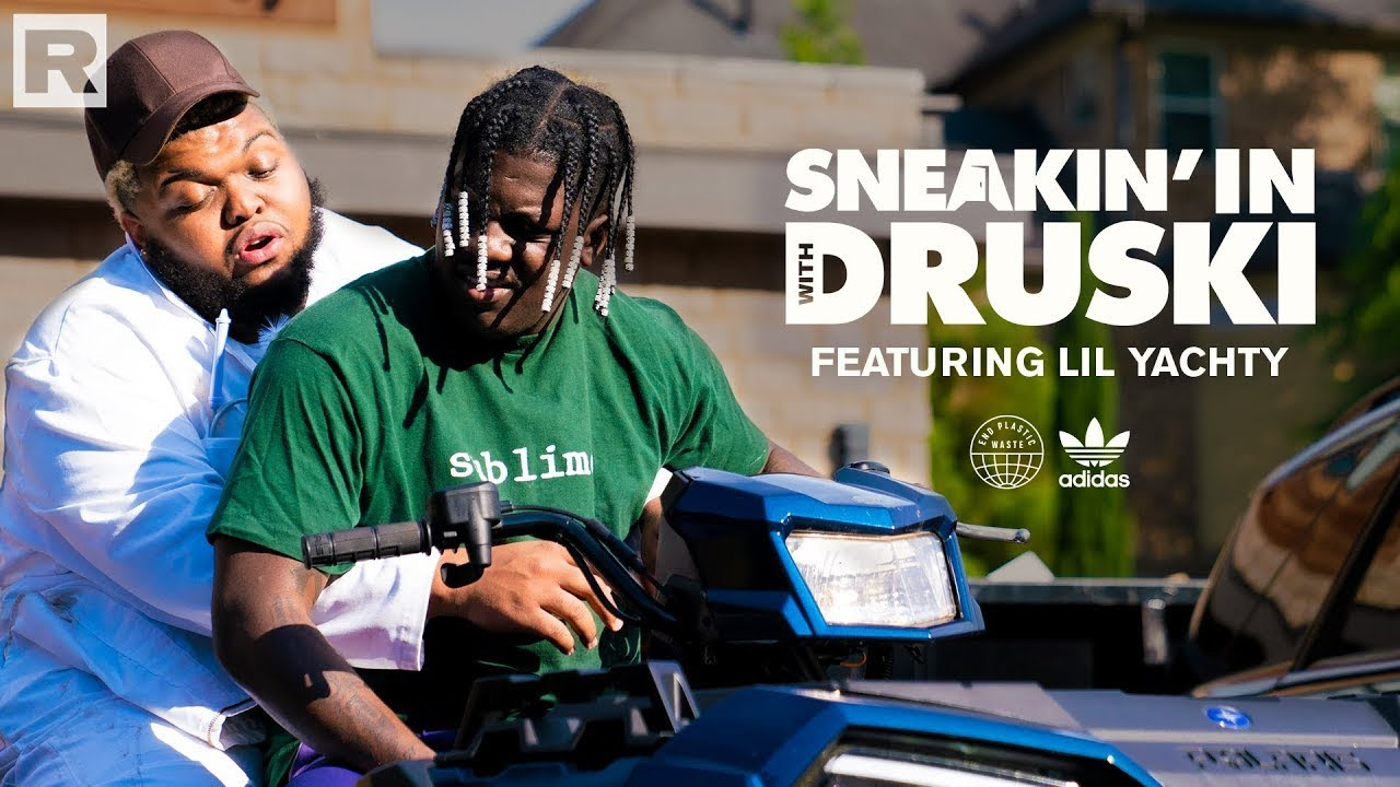 Druski crashes Lil Yachty's house in efforts to save the planet | 'Sneakin' In With Druski'