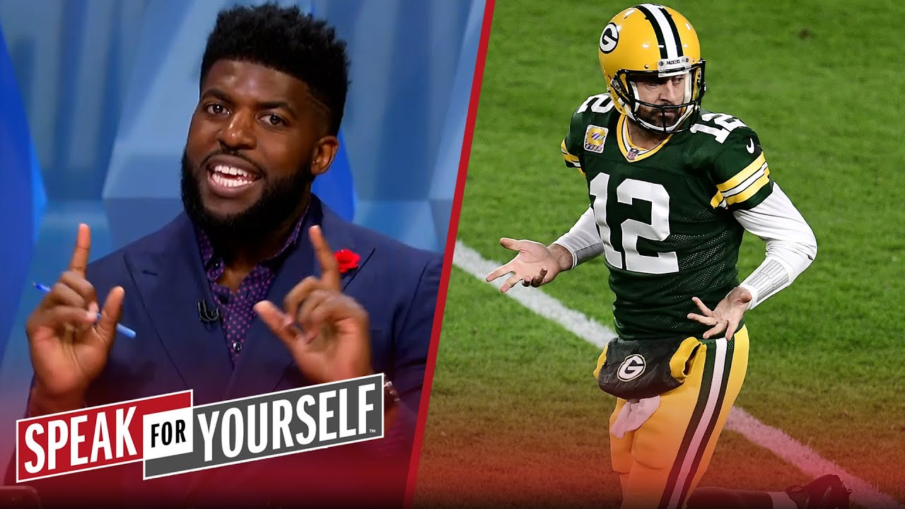 Emmanuel Acho isn't confident Aaron Rodgers will start Wk 1 for Packers | NFL | SPEAK FOR YOURSELF