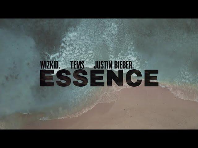 """Essence"" (Remix) – WizKid –  [feat. Justin Bieber & Tems] (Lyric Video)"