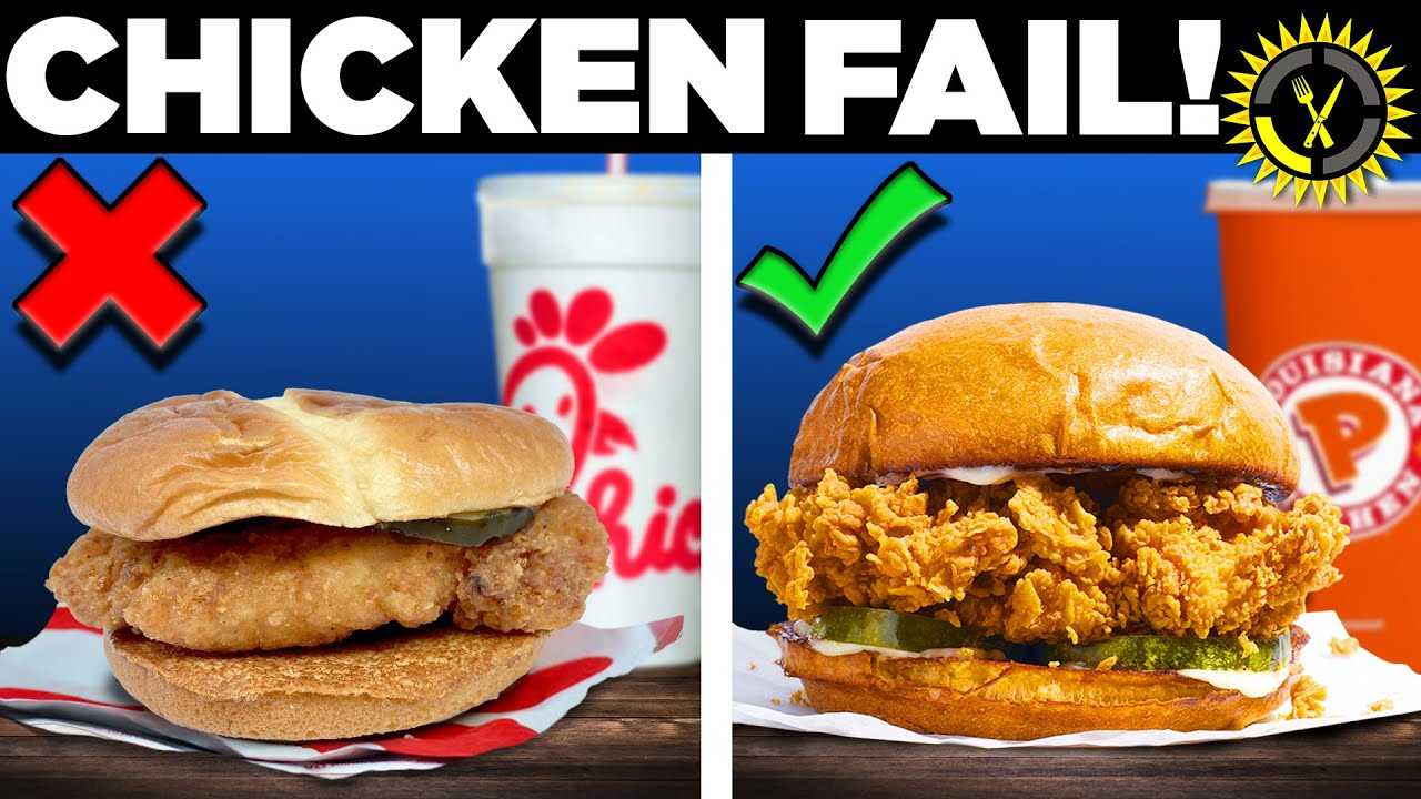 Food Theory: Don't Order These Chicken Sandwiches! (McDonalds, KFC, and …)