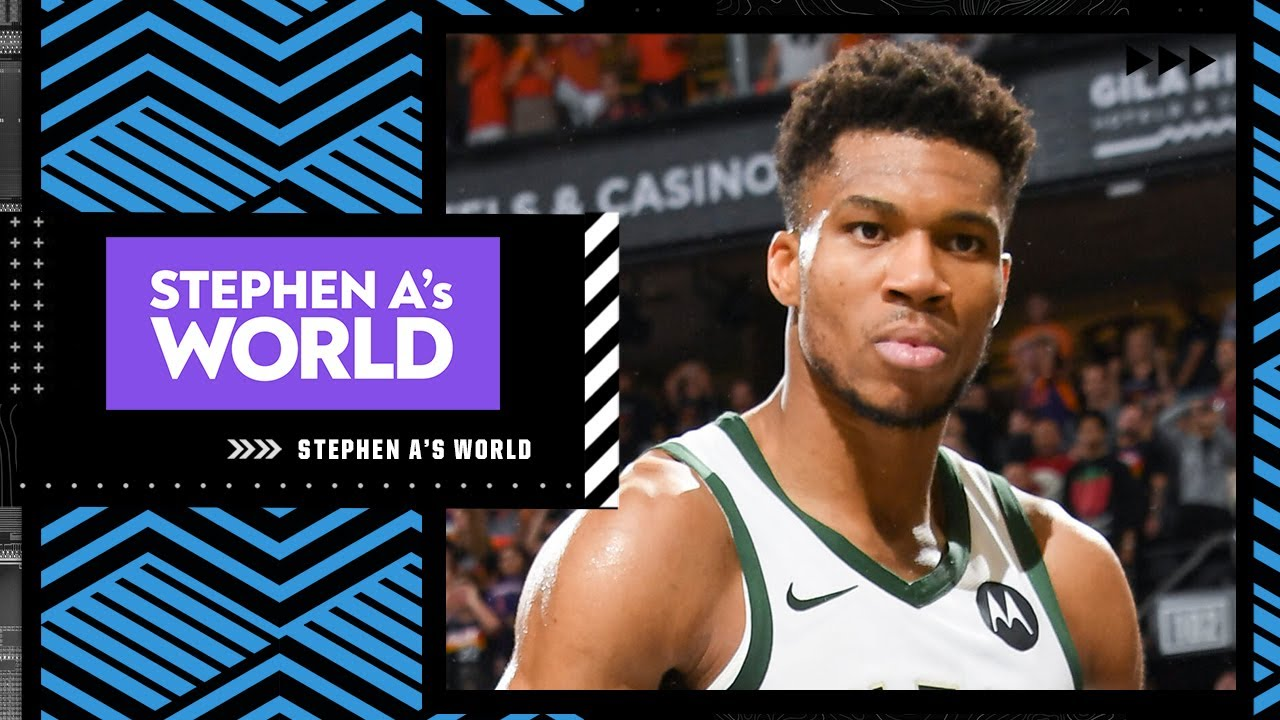 'Giannis is the best thing that could have happened to the NBA' – Stephen A | Stephen A.'s World