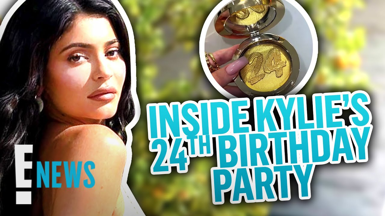 Inside Kylie Jenner's 24thBirthday Party   E! News