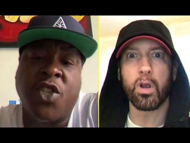Jadakiss Calls Out Eminem And Says He Would Smoke Him Lyrically In Battle 'I Can Beat Eminem Easily'