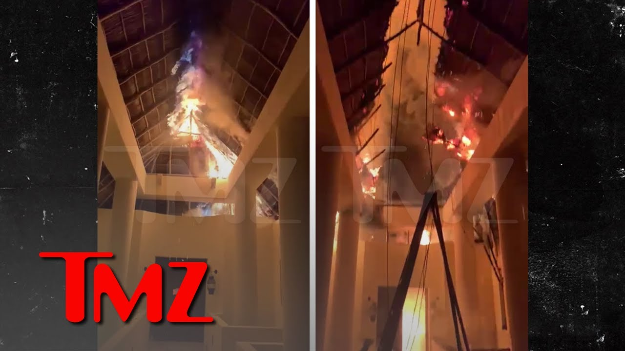 Joe Francis' Mexican Property Casa Aramara Catches Fire, Crazy Blaze   TMZ