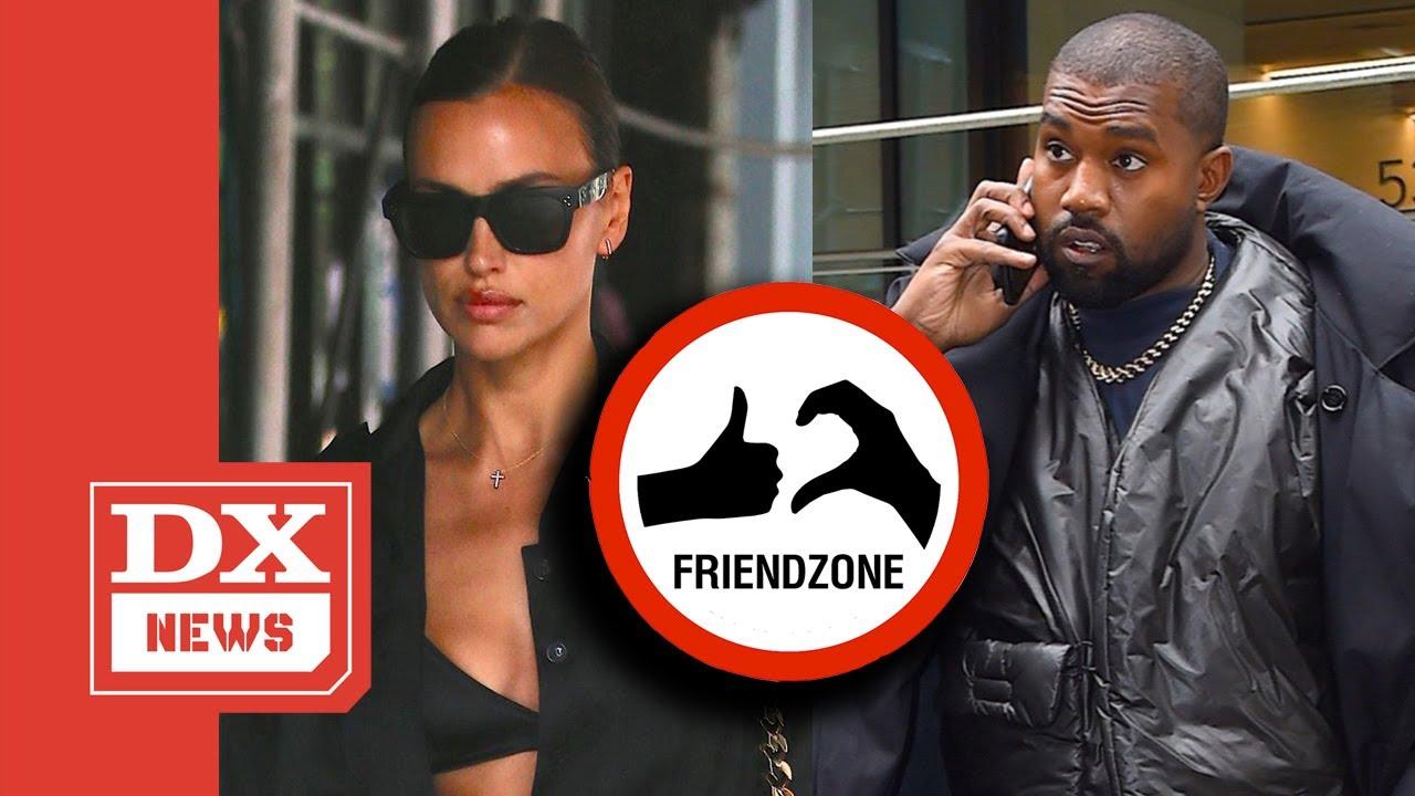 "Kanye West Allegedly ""Friend Zoned"" By Model Irina Shayk"