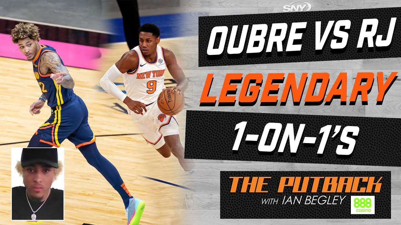 Kelly Oubre Jr. talks playing 1-on-1 with RJ Barrett | The Putback with Ian Begley | SNY