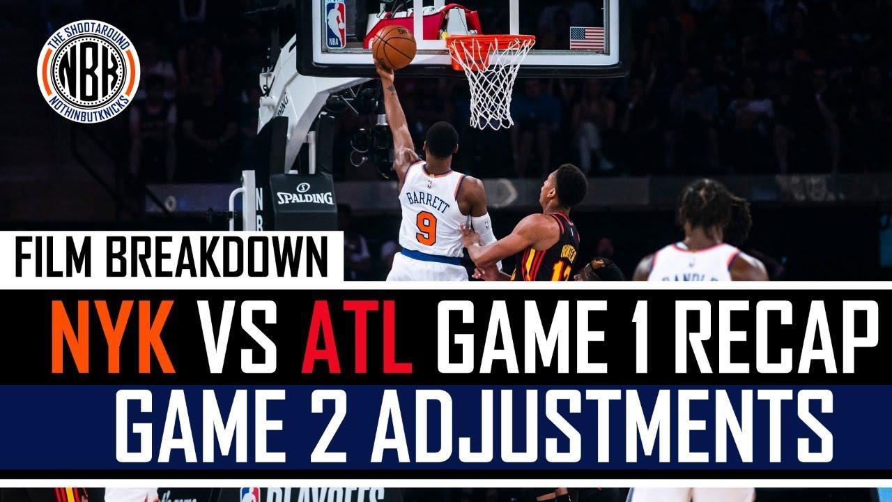 Knicks vs Hawks Game 1 Recap & Film Breakdown | Adjustments for Game 2