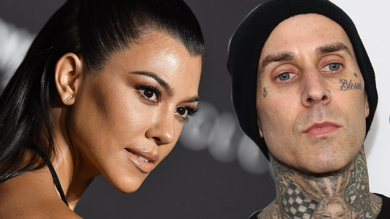 Kourtney Kardashian and Travis Barker's Heat Up As She Publicly FLIRTS With Him!