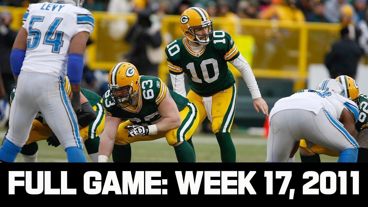 Matt Flynn Goes for 500 Yards! Lions vs. Packers Week 17, 2011
