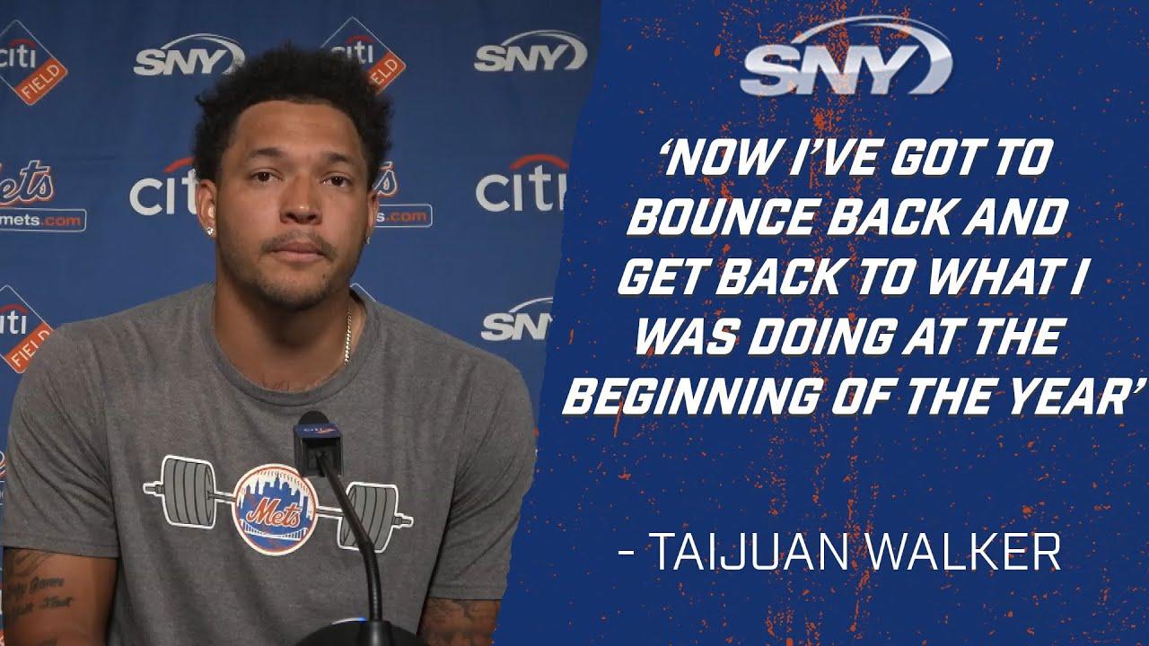 Mets vs Blue Jays:  Taijuan Walker on what went wrong in loss to Blue Jays | Mets Post Game