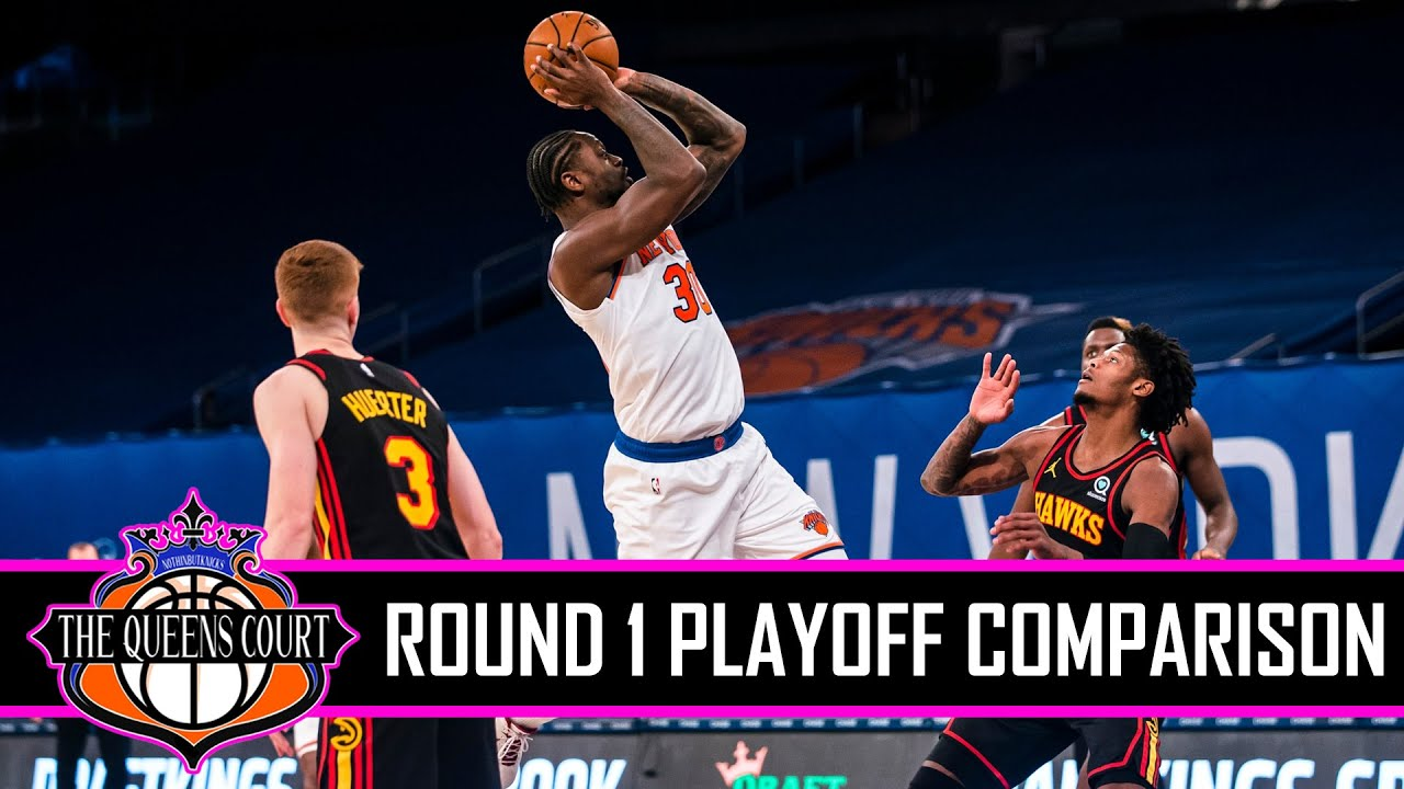 New York Knicks vs Atlanta Hawks Playoff Comparison