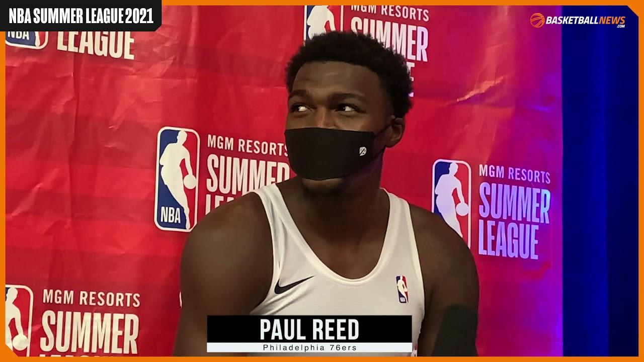 Philadelphia 76ers' Paul Reed Discusses NBA Summer League Performance