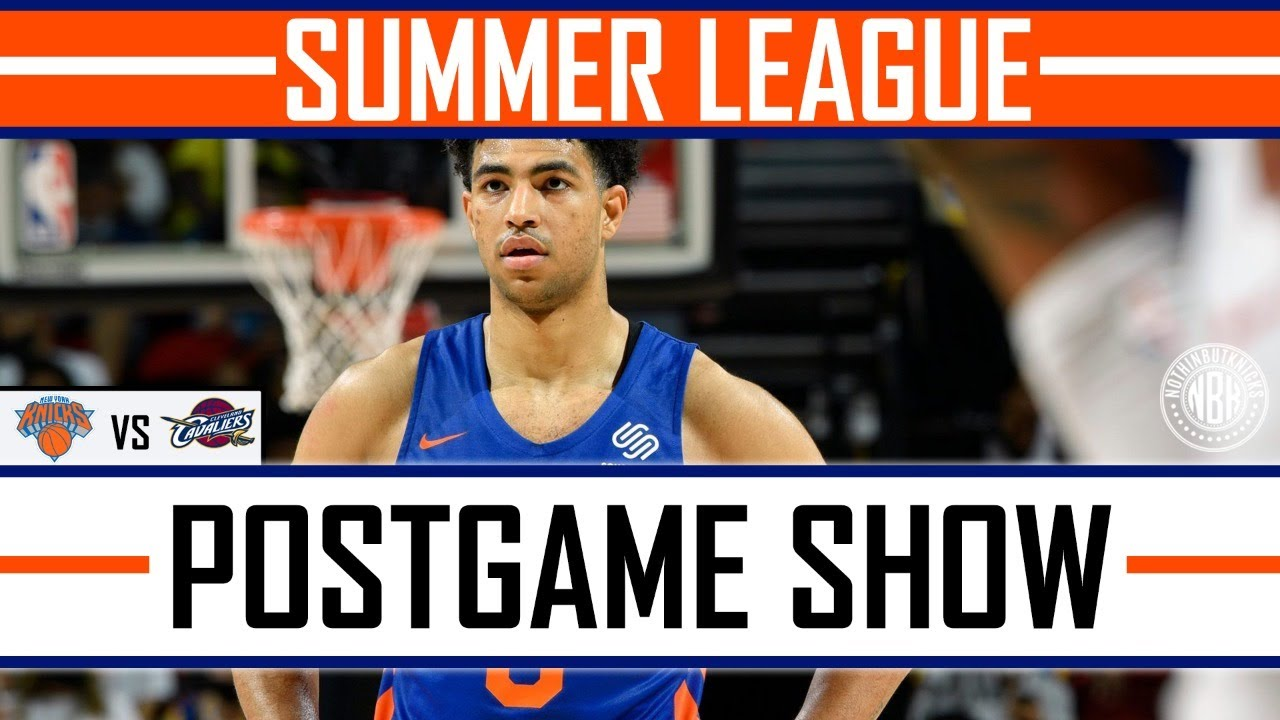 Quentin Grimes finally looks comfortable! | New York Knick vs Cleveland Cavaliers Post Game Show