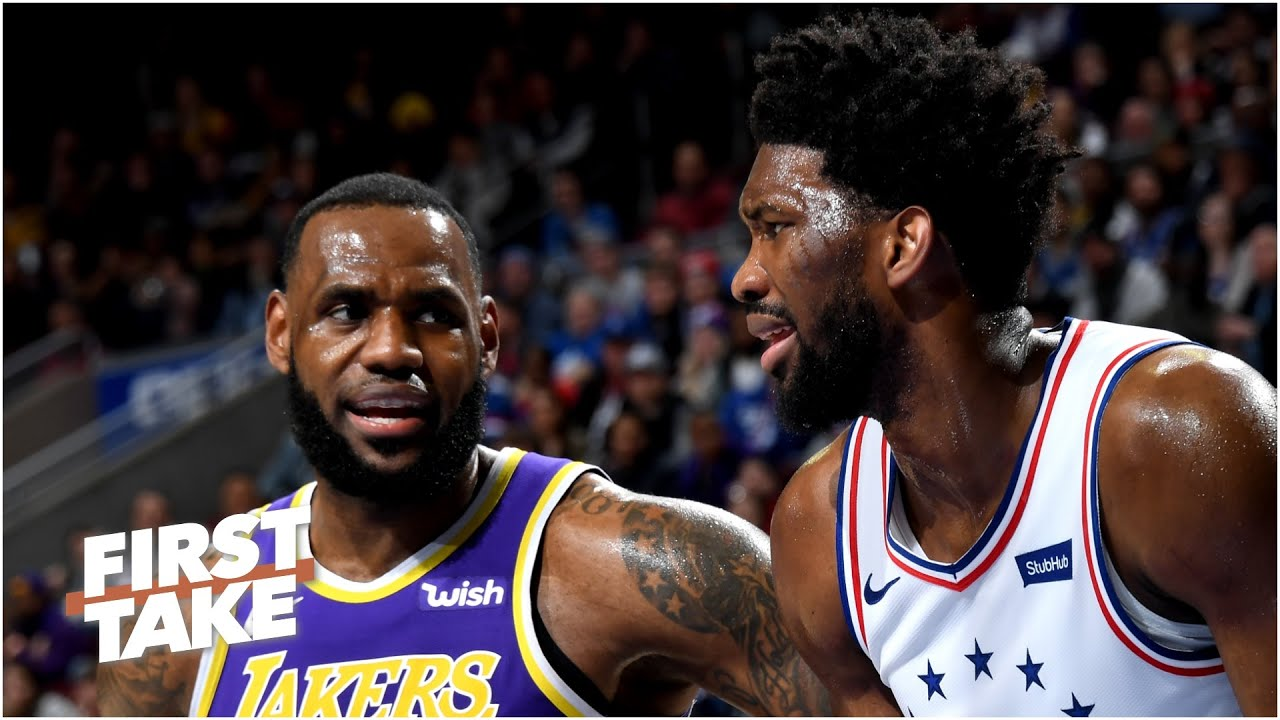 Stephen A. and Max debate LeBron vs. Joel Embiid as MVP frontrunner | First Take
