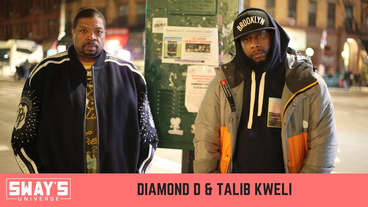 Talib Kweli & Diamond D Talk New Album 'Gotham', New Blackstar Album & DMX, Anthony Bourdain's Death