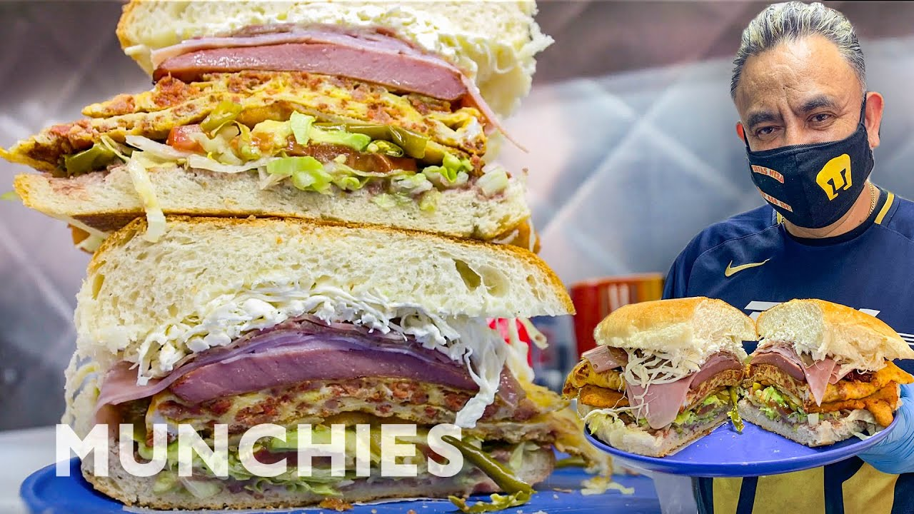 The Biggest Tortas in NYC | Street Food Icons