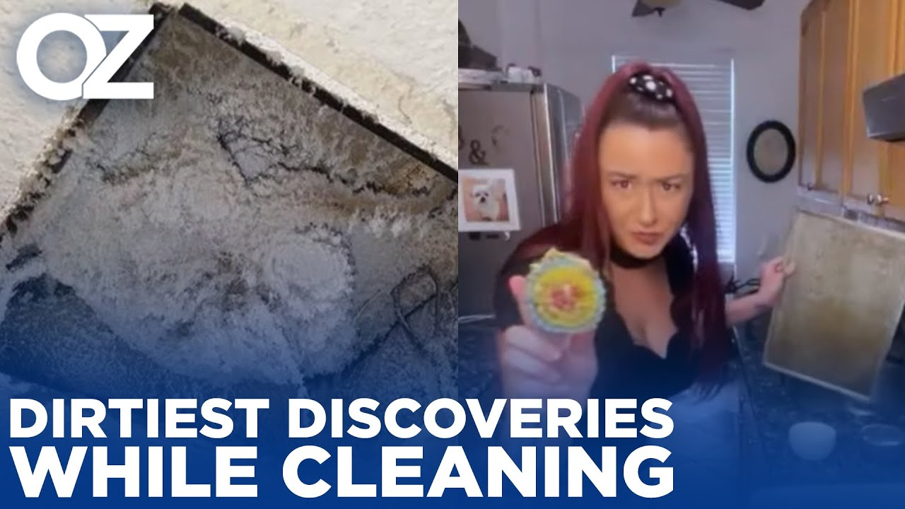 The Craziest, Dirtiest Discoveries You've Uncovered While Cleaning!