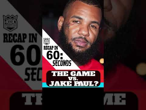 THE GAME CALLS OUT JAKE PAUL FOR THE FADE #SHORTS