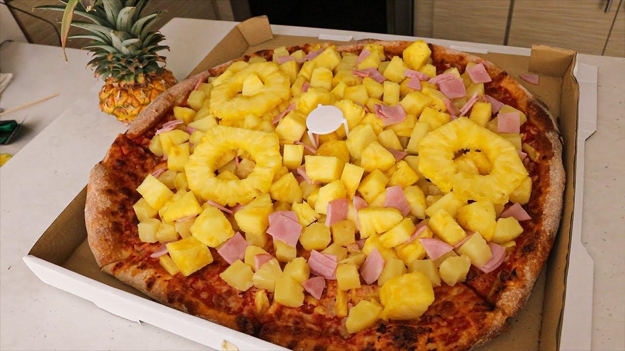 """The """"Most Hawaiian"""" Hawaiian Pizza EVER…"""