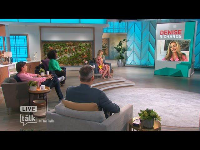 The Talk – 'B&B': Denise Richards Spills on Shauna Covering for Quinn