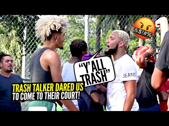 Trash Talkers DARED US To Come To Their Court!! They Regretted It!