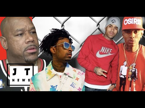 Wack 100 Confirms Soulja Boy and Chris Brown are Bl00DS, 21 Savage and Wack 100 Besties Again LOL