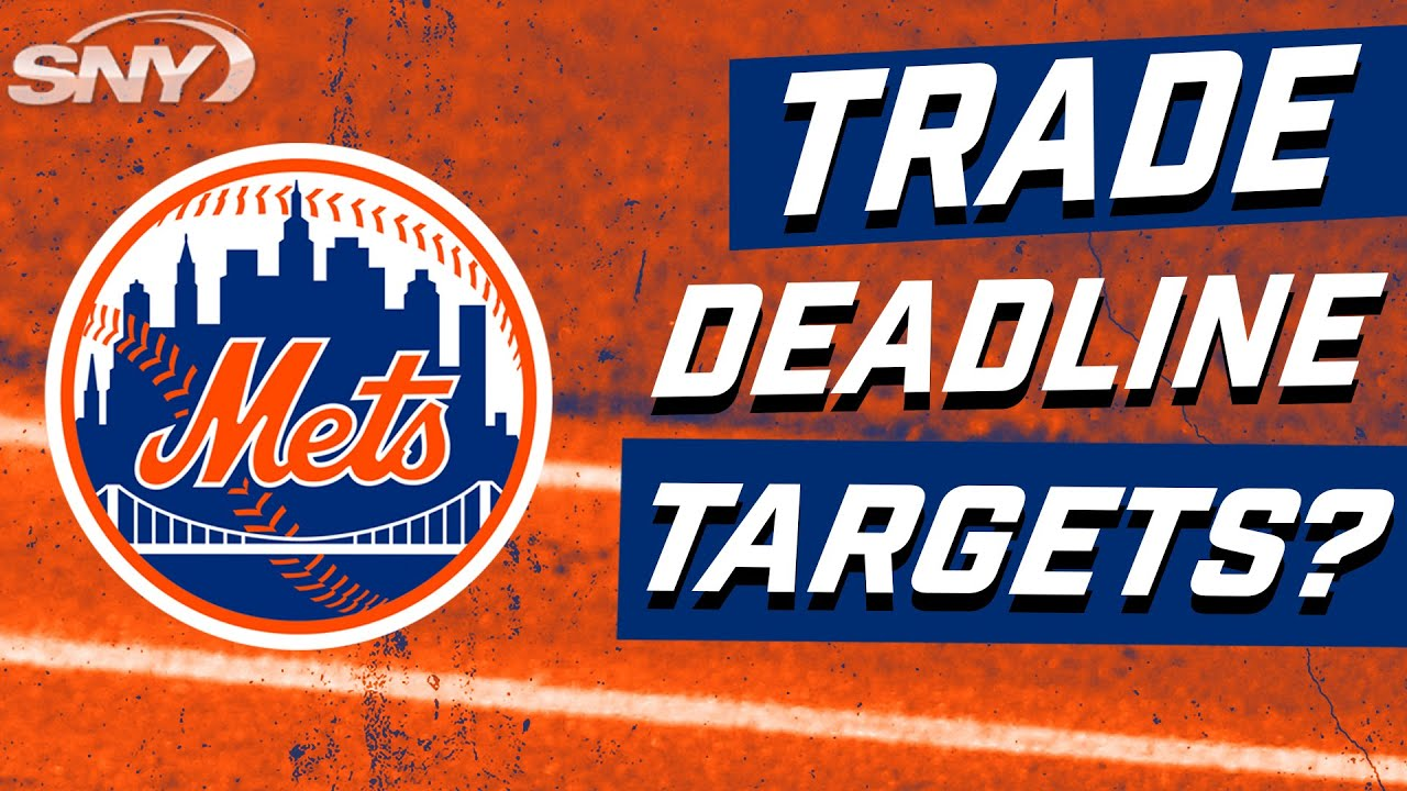 With deGrom's recent injury, who should the Mets be targeting before the deadline? | Mets | SNY