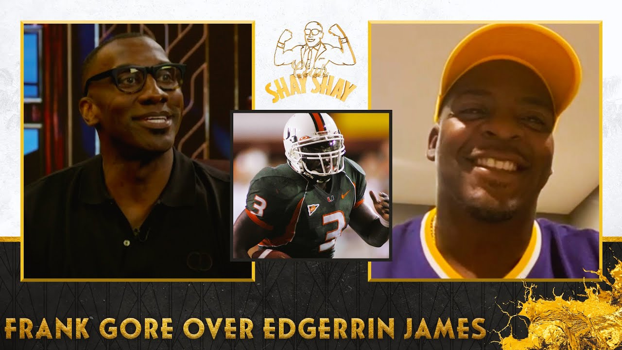 Clinton Portis explains why Frank Gore is best Miami RB over Edgerrin James | EP. 37