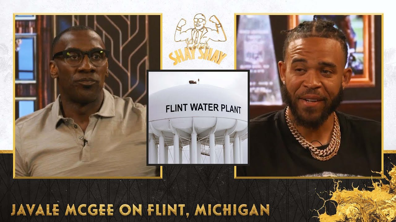 Flint was a thriving Black community before the water crisis, JaVale & Pamela McGee explain | EP. 36