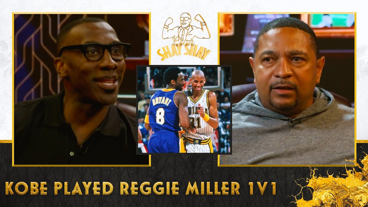"""Here's what Kobe did after Reggie Miller hit a jumper in his face during a """"friendly"""" game of 1v1"""