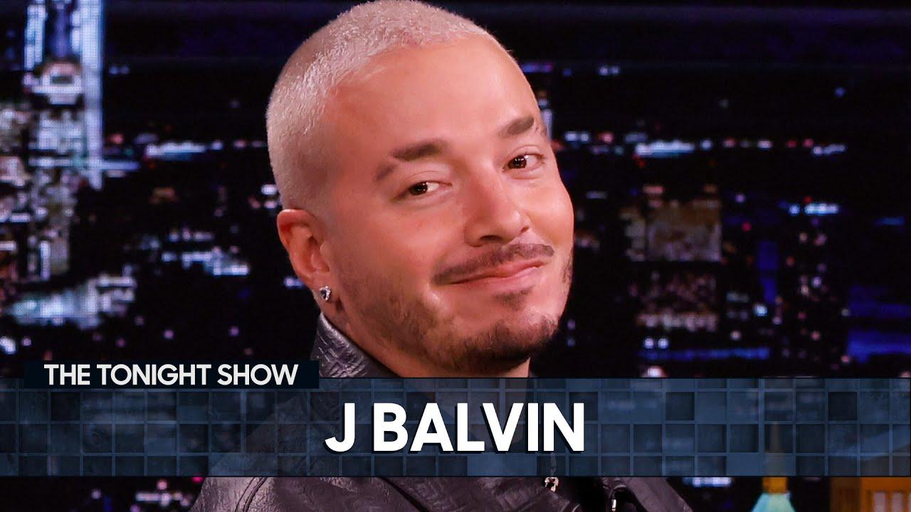 J Balvin Announces His New World Tour and Teaches Jimmy the In Da Getto TikTok Dance   Tonight Show