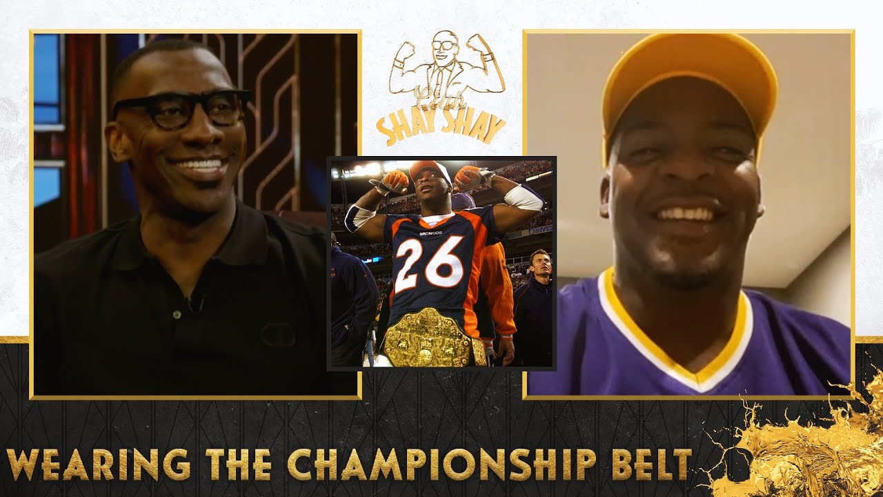 Shannon Sharpe handed Clinton Portis the WWE Championship belt during his 5 TD game | EP. 37
