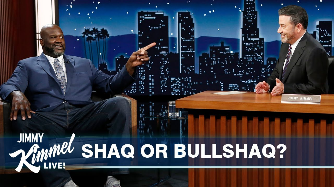 Shaq Reveals Which Myths About Him are True