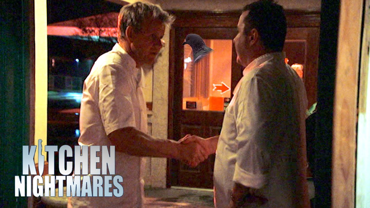 Gordon Ramsay Sympathises With Frustrated Chef   Kitchen Nightmares