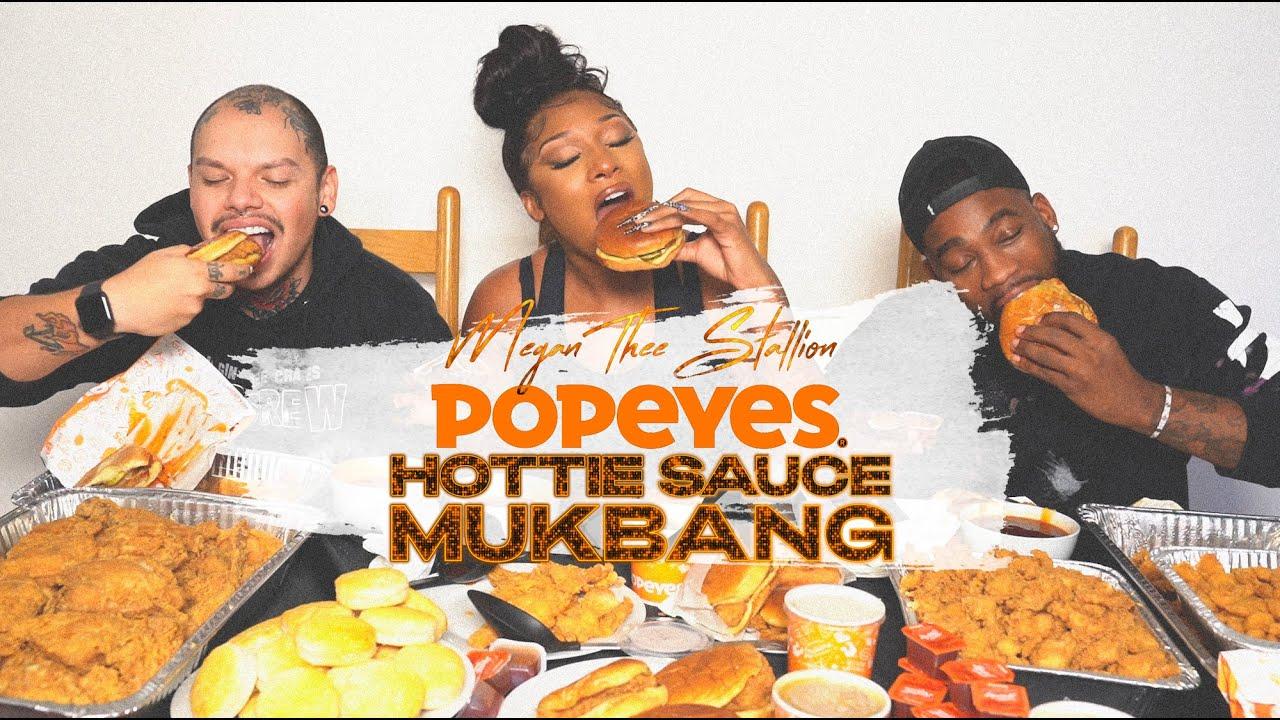 Megan Thee Stallion – Hottie Sauce Mukbang