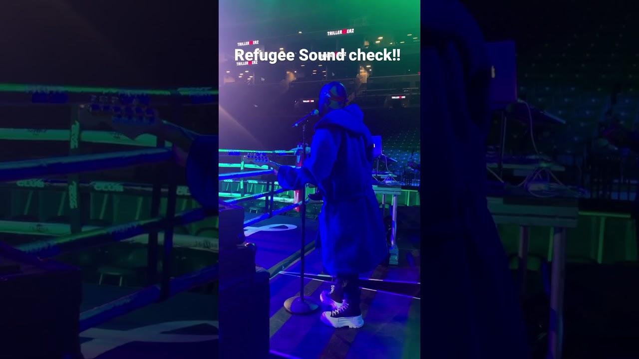 Refugee Sound check!! #shorts #verzuz #triller