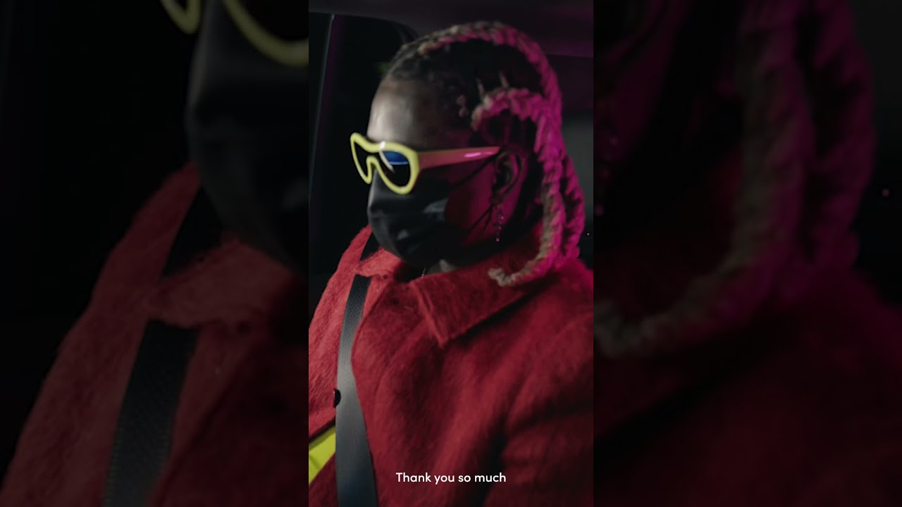 We surprised Lyft drivers with a first listen of Young Thug's new album #PUNK 💕🚗🐍#LyftLaunchParty